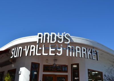 Andys Sun Valley Sign
