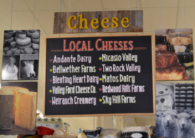 Olivers Stony Point Cheese Sign