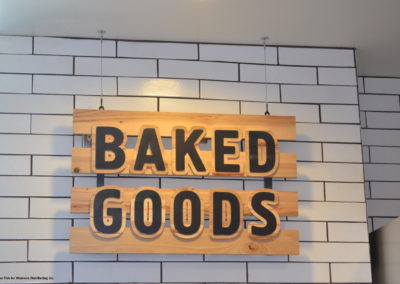 Woodlands Tiburon Bakery Sign
